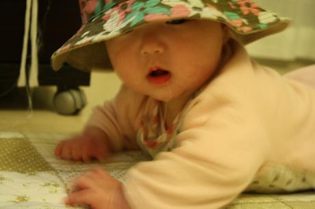 まの 初帽子☆
