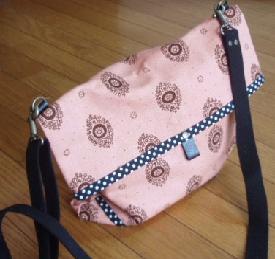 17日ピンクのバッグ1