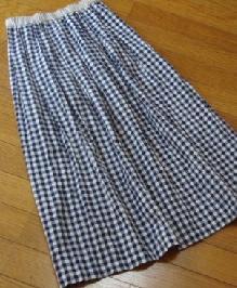2月18日スカート