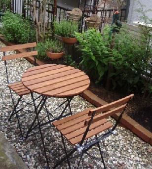 7月8日ガーデンテーブル
