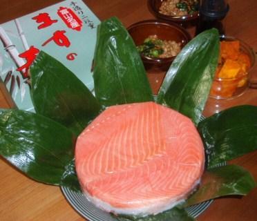 12月16日鱒寿司