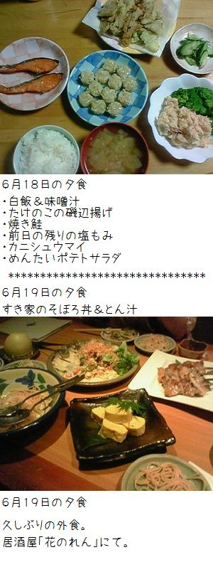 夕食どどーん