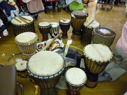 アフリカの太鼓