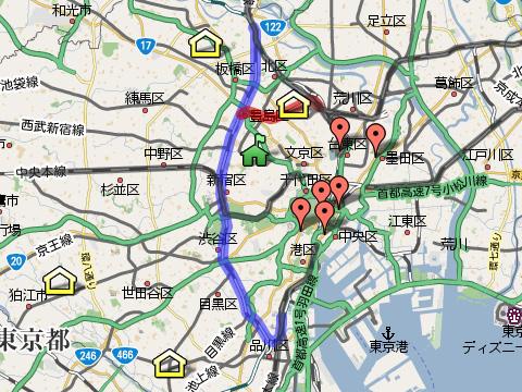 鉄道国有化時の路線図