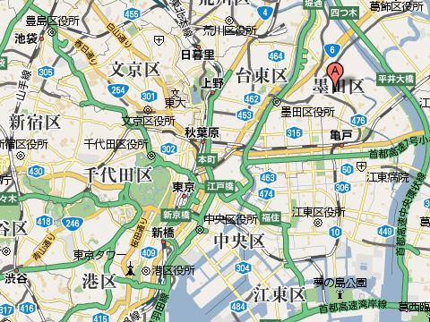 京島の場所