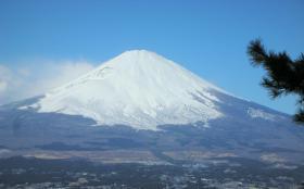 2日目の富士
