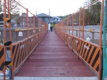 くるまやばし仮橋