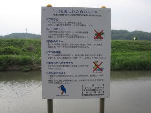 柳瀬川利用ルール