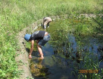 金山調節池採水