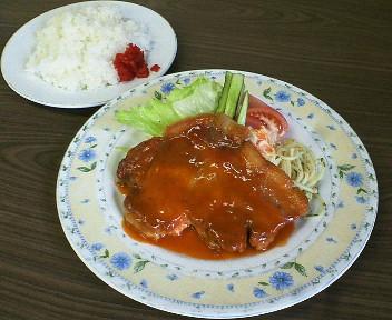 イタミ・ポークチャップ&ライス1,155円