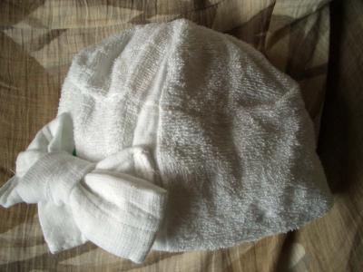 タオル帽子