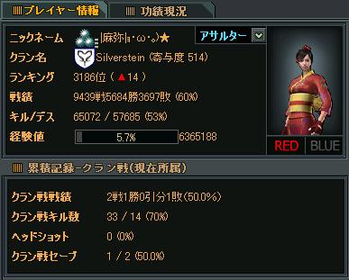 Silverstein 2戦目★