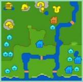 ☆ふわふわ☆村の地図♪