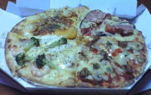 ふんぱつピザ