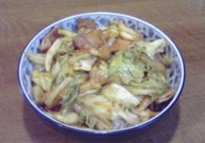 ベーコンとキャベツ丼2nd