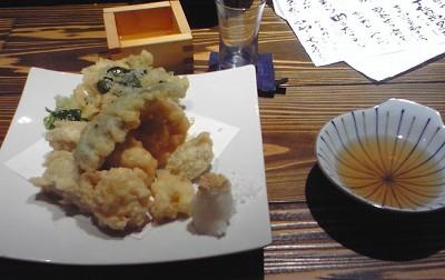 吉田農園野菜天ぷら盛り合わせ