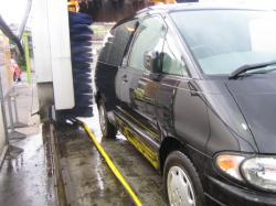 手抜き洗車