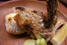 鯛カマの塩焼き