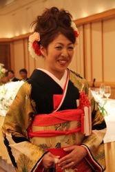11 バク子結婚式2