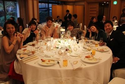 11 バク子結婚式11
