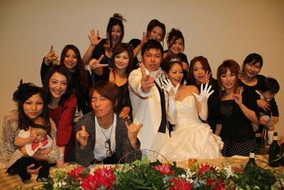 11 とんちん&いくちゃん結婚式4