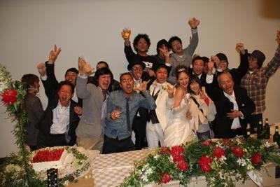 11 とんちん&いくちゃん結婚式34