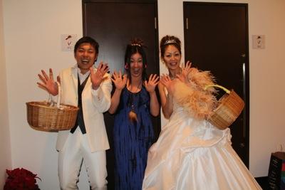 11 とんちん&いくちゃん結婚式33