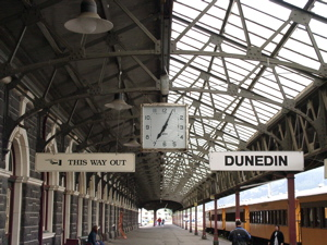 img ダニーデン駅のホーム