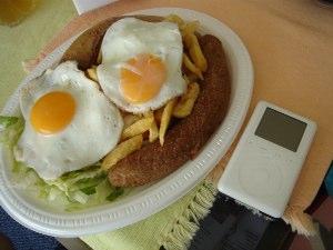Kiwi Meal をiPodと比較