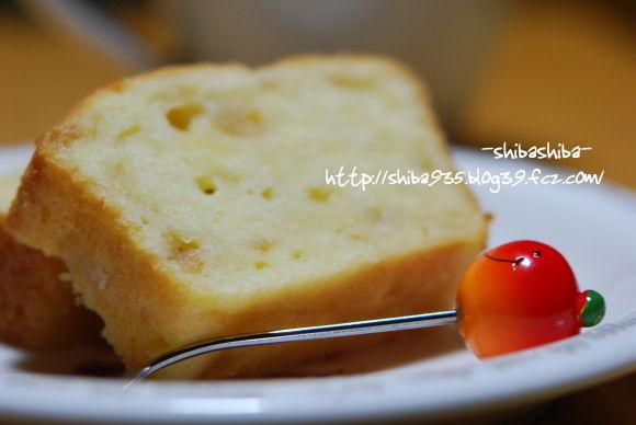 りんごバウンドケーキ