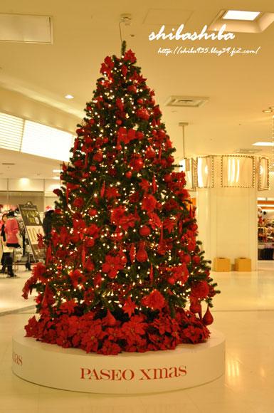 赤いツリー