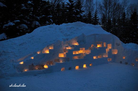 スノーキャンドルを灯そう2012