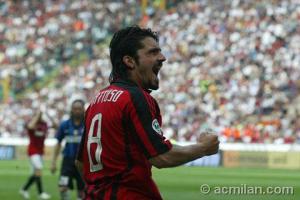 MILAN-INTER: GATTUSO domenica 4 maggio 2008