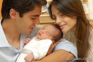 MAMMA CAROLINE, PAPA' RICKY E LUCA