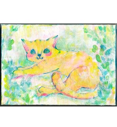 アフロ猫さんのイラスト