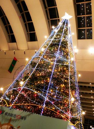 クイーズスクウエア横浜のツリー