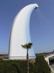 海浜公園へ渡る橋
