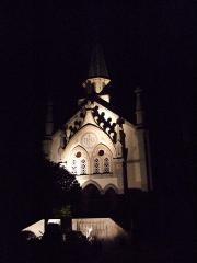 カトリック教会(夜)