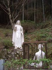 マリア様銅像