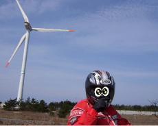 R9風力発電機2