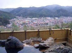 富田山荘・露天風呂