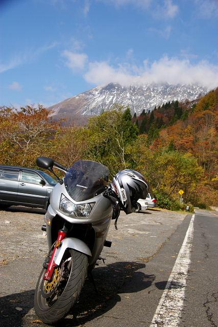 大山初冠雪2