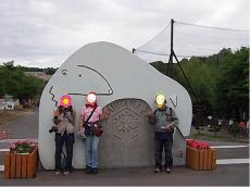 旭山動物園ライダーさんたちと