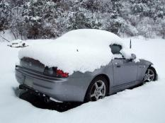 雪のS2000