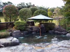 山紫苑の露天風呂