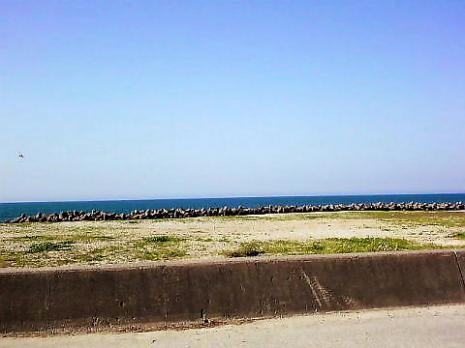 海のすぐそば 皆生温泉