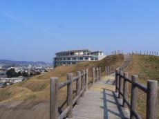 田和山から見る市民病院