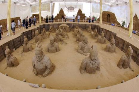 砂の美術館1