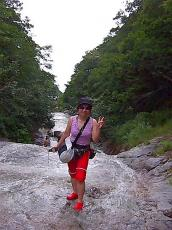カムイワッカの滝1