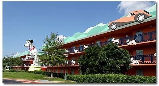 ディズニーワールドホテル